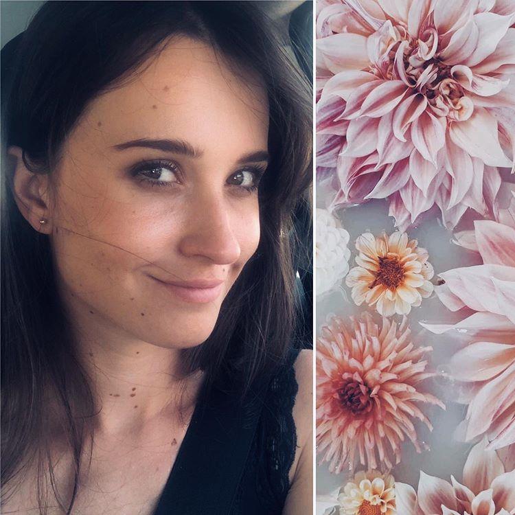 """Joanna Zbieżak florystka, właścicielka """"Kwiatów Bawełny"""""""