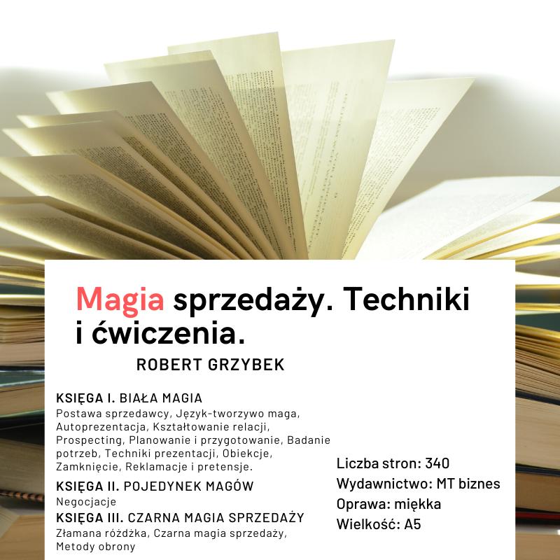 książka Magia sprzedaży